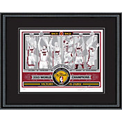 That's My Ticket Miami Heat NBA Champions Sports Propaganda Framed Serigraph