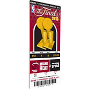That's My Ticket Miami Heat 2013 NBA Finals Game 7 Canvas Ticket