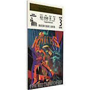 That's My Ticket New York Knicks 1994 NBA Finals Game 5 Canvas Ticket