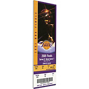 That's My Ticket Los Angeles Lakers 2001 NBA Finals Game 1 Canvas Ticket
