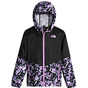 The North Face Girls' Flurry Wind Hooded Jacket - Past Season