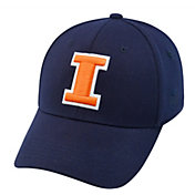 Top of the World Men's Illinois Fighting Illini Blue Premium Collection M-Fit Hat