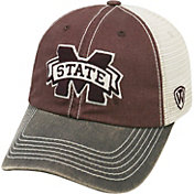 Top of the World Men's Mississippi State Bulldogs Maroon/White/Grey Off Road Adjustable Hat