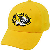 Top of the World Men's Missouri Tigers Gold Premium Collection M-Fit Hat