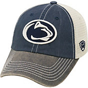Top of the World Men's Penn State Nittany Lions Blue/White Off Road Adjustable Hat