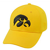 Top of the World Men's Iowa Hawkeyes Gold Premium Collection M-Fit Hat