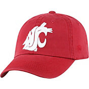 Top of the World Men's Washington State Cougars Crimson Crew Adjustable Hat