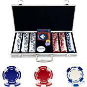Trademark Poker 200 Hold'Em Poker Chip Set and Case
