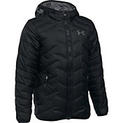 Under Armour Boys' ColdGear Reactor Hooded Jacket