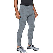 Under Armour Men's ColdGear Jacquard Compression Leggings