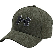 Under Armour Men's Printed Blitzing Stretch Fit Hat