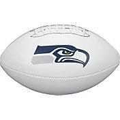 Wilson Seattle Seahawks Autograph Official-Size Football