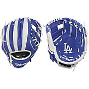 "Wilson 10"" A200 Los Angeles Dodgers T-Ball Glove"