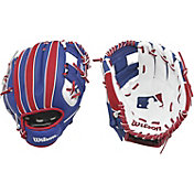 "Wilson 10"" A200 MLB T-Ball Glove"