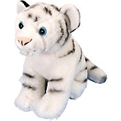 Wild Republic Cuddlekin White Tiger Stuffed Animal