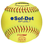 "Rawlings 10"" RIF Sof-Dot ASA Fastpitch Softball"
