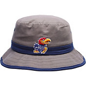 Zephyr Men's Kansas Jayhawks Grey Thunder Bucket Hat