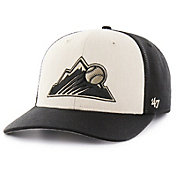 '47 Men's Colorado Rockies Inductor MVP Black Adjustable Hat