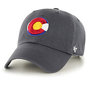 '47 Men's Colorado Rockies Clean Up Grey Adjustable Hat