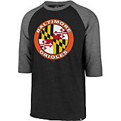 '47 Men's Baltimore Orioles Club Three-Quarter Sleeve Shirt
