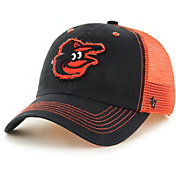 '47 Men's Baltimore Orioles Taylor Closer Black Fitted Hat