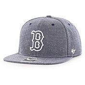 '47 Men's Boston Red Sox Emery Captain Adjustable Snapback Hat