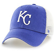 '47 Men's Kansas City Royals Blue Hill Closer Royal Fitted Hat