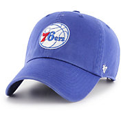 '47 Men's Philadelphia 76ers Royal Clean Up Adjustable Hat