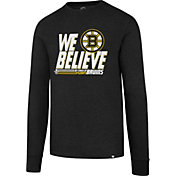 '47 Men's 2017 NHL Stanley Cup Playoffs Boston Bruins Black Long Sleeve T-Shirt