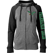 New Era Women's Philadelphia Eagles Throwback Grey Full-Zip Hoodie