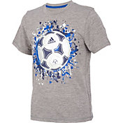adidas Boys' Rocket Ball Graphic T-Shirt