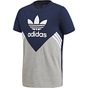 adidas Originals Boys' 3-Stripe T-Shirt