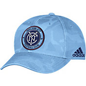 adidas Men's New York City FC Camo Structured Adjustable Hat