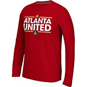 adidas Men's Atlanta United Dassler Ultimate Red Long Sleeve Shirt