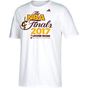 adidas Men's 2017 Eastern Conference Champions Cleveland Cavaliers Locker Room White T-Shirt