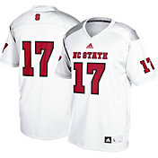 adidas Men's NC State Wolfpack #17 White Replica Football Jersey