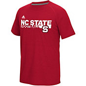adidas Men's NC State Wolfpack Red Sideline Grind Ultimate T-Shirt