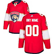 adidas Men's Custom Florida Panthers Authentic Pro Home Jersey