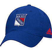 adidas Men's New York Rangers Basic Royal Slouch Adjustable Hat