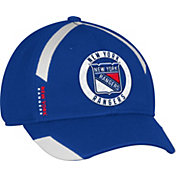 adidas Men's New York Rangers Practice Structured Royal Flex Hat