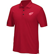 adidas Men's Detroit Red Wings Red Performance Polo