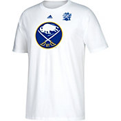 adidas Men's 2018 Winter Classic Buffalo Sabres Event Logo White T-Shirt