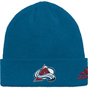 adidas Men's Colorado Avalance Basic Blue Knit Beanie