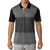 adidas Men's climachill Pixel Print Golf Polo