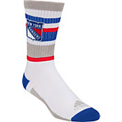 adidas New York Rangers White Stripe Crew Socks
