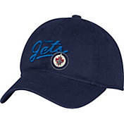 adidas Women's Winnipeg Jets Navy Slouch Adjustable Hat