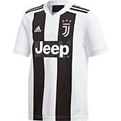 adidas Youth Juventus 2018 Stadium Home Replica Jersey