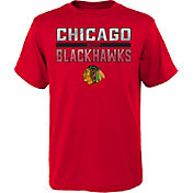NHL Youth Chicago Blackhawks T-Rex Red T-Shirt