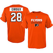 adidas Youth Philadelphia Flyers Claude Giroux #28 Orange T-Shirt