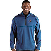 Antigua Men's Oklahoma City Thunder Prodigy Quarter-Zip Pullover